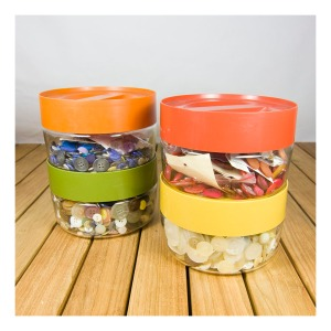 Pyrex canisters