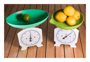 Persinware kitchen scales