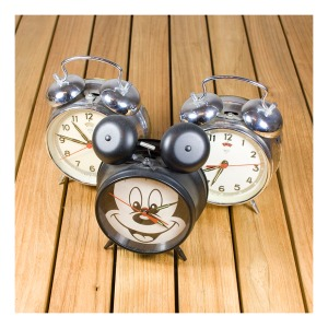 Mickey Mouse clock & Diamond clocks