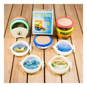 Kitsch coaster sets