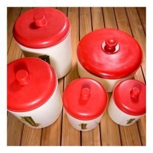 Eon bakelite canisters