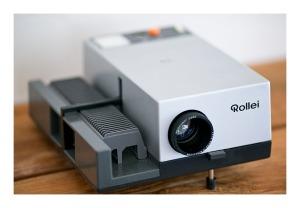 Rollei O350A slide projector