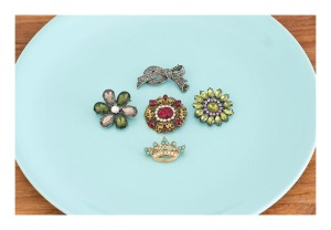 50s brooches