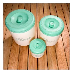 Nally nested bakelite canisters