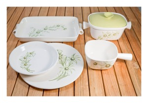 Diana Flannel Flower pottery