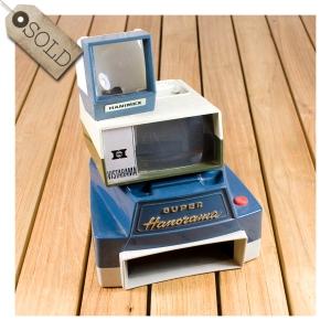Hanimex 35mm slide viewers