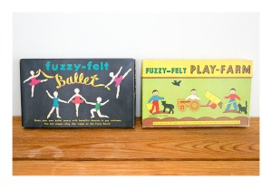 Fuzzy Felt Ballet & Play Farm