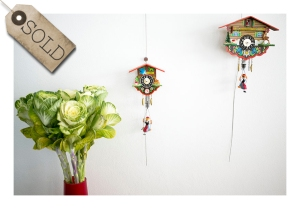 German swinging cuckoo clocks