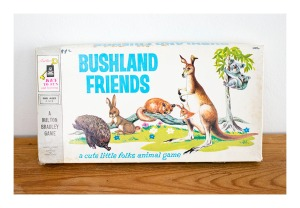 Bushland Friends board game