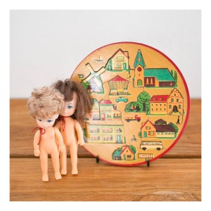 Simplex 'model town' children's puzzle