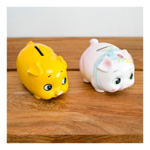 retro piggy banks