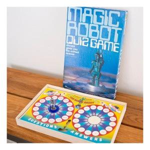 Magic robot quiz game