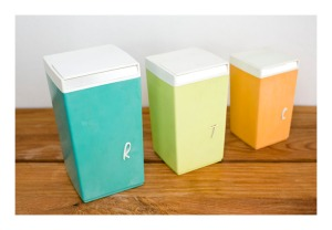 Nally kitchen canisters