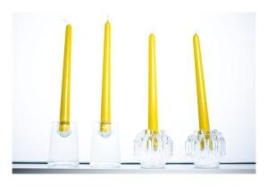 Kosta Boda candleholders
