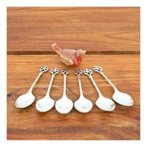 Fleur-de-lis teaspoons