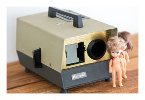 Halinamat 300 slide projector