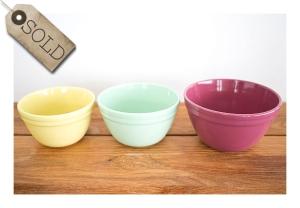 Fowler Pudding Bowls