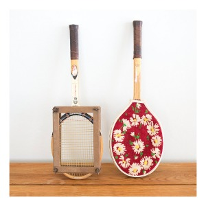 Collectible tennis racquets