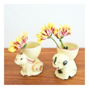 Retro Japanese eggcups