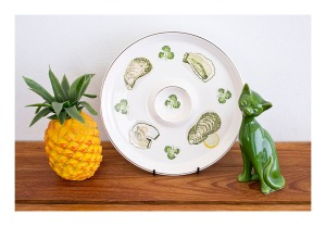 Ideal Ironstone oyster platter