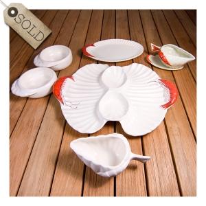 Diana 'prawn' pottery