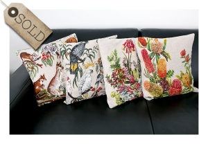 Upcycled cushions