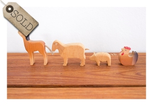 70s toy farm animals