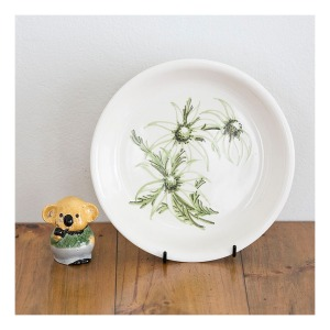 Diana Flannel Flower pie dish