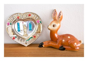 Bambi and New York City pin dish