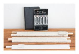 Magic Brain Computer and slide rulers- 50s