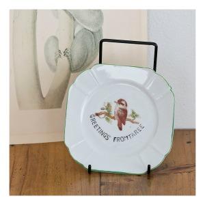 40s souvenir plate