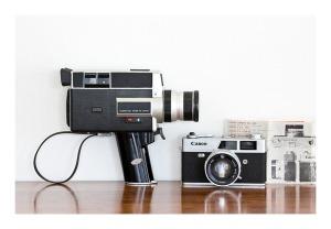 Canon Canonet QL17 & Canon auto zoom 518 Super 8 camera