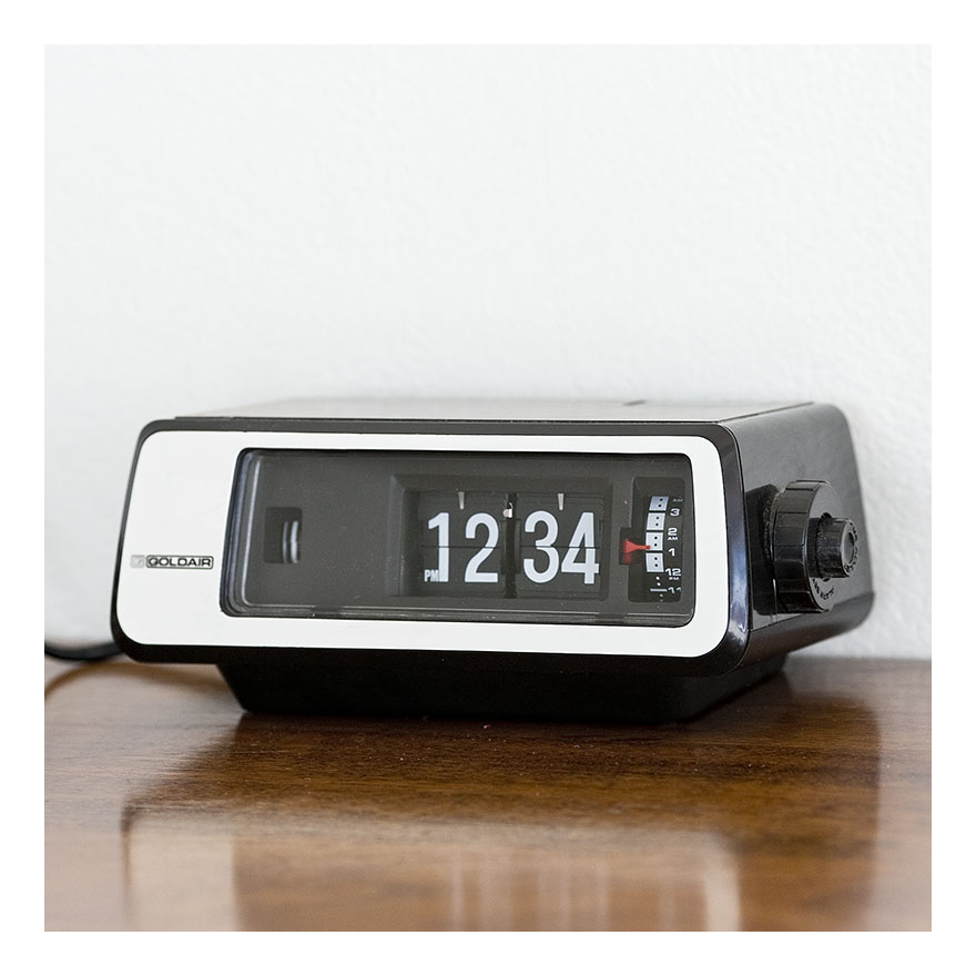 70s Flip Clock Re Retro