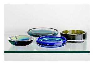 Scandanavian art glass, 1960s