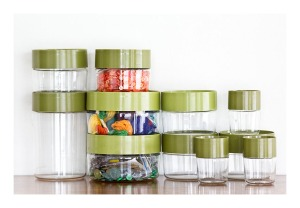 Pyrex Stack 'N' Store canisters