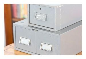 Brownbuilt steel file drawers