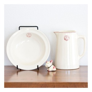 RRR jug & bowl, 1930s