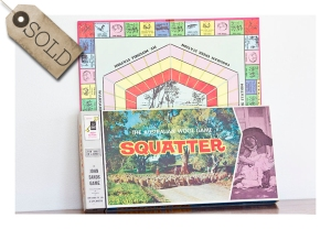 Squatter board game, 1962