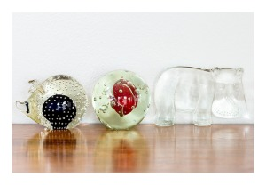 Art glass paperweights, 1960s