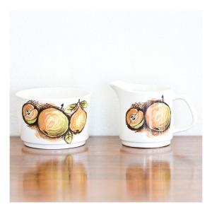 J & G Meakin 'Eden' jug & sugar bowl