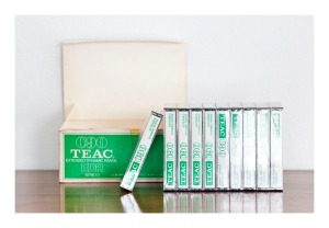 Unused TEAC C90 cassette tapes