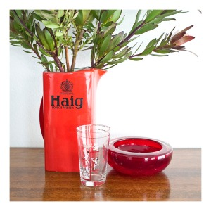 Haig Scotch Whiskey water jub