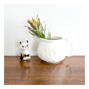 Diana Flannel Flower jug