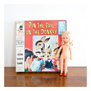 Pin the Tail on the Donkey [vintage game 1960s]