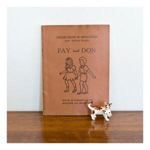 Fay and Don reader, 1953