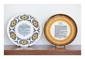 70s pavlova platters