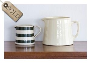 40s jugs: Bakewells & Fowler Ware