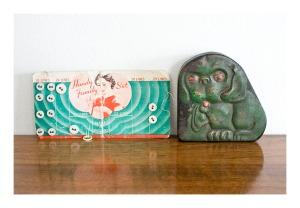Bonzo trinket tin, 1930s