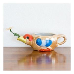 Lustreware duck jug