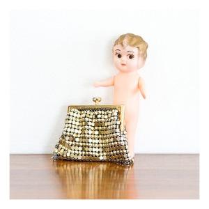 Glomesh purse, 1960